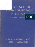 The Science of Animal Breeding in Britain