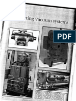 Selection of vacuum system