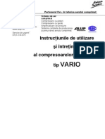 Manual Exploatare VARIO Ro