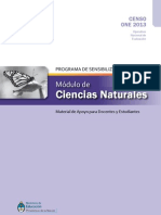 Modulo Naturales ONE2013