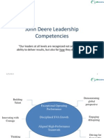 John Deere Leadership Compitencies
