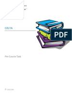 CELTA - Recommended Books