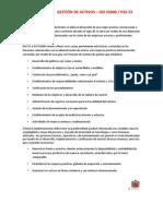 Gestión de activos Implementación PAS 55 e ISO 55000 HEE Consultores