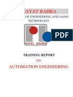 Automation Project Report