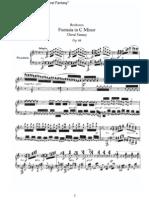 Beethoven - Fantasia in C Minor Choral Fantasy - I - Adagio