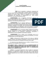 Decreto 505-99 que aprueba el Reglamento para la regulación de las importaciones de los rubros agropecuarios de la rectificación técnica a la Lista XXIII