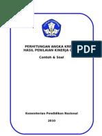Perhitungan Soal PAK PK GURU