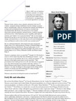 Henry David Thoreau - Wikipedia, The Free Encyclopedia