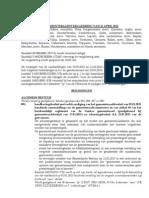 Verslag gemeenteraad Genk 25 april 2013