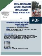 Festival Interclubes Master de Atletismo Asosantander