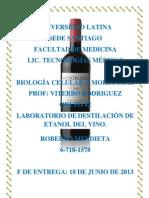Roberto Mendieta Lab Destilacion