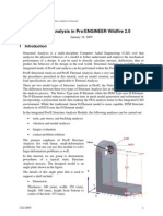 Structure Analysis in ProE