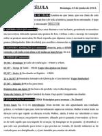 Boletim 23+06+13  - Princípios para avançar - Pr. Daniel
