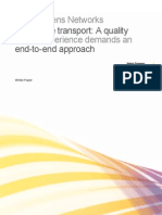 Lte Transport Requirements