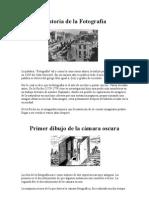 Documento 1- Historia de la Fotografía