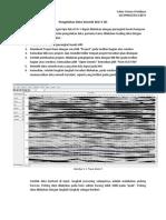 analisa amplitudo dengan HRS
