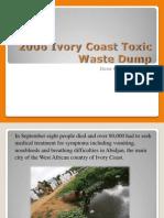 Kerene - 2006 Ivory Coast Toxic Waste Dump