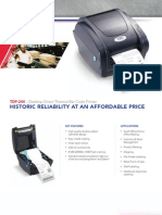 TSC TDP-244 Desktop Printer Brochure