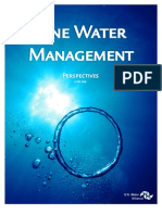 2013 One Water Management Perspectives
