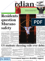 Glasgow University Guardian - April 27th 2009 - Issue 8