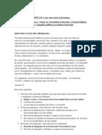 Contaminación Acústica y  Visual  en  la Facultad de Derecho y Ciencias Políticas durante  campañas políticas en comicios electorales