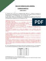 Problemas Farmacocinetica 2009