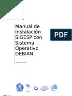 Manual de Instalación Sigesp 2011