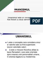 UMANISMUL 2