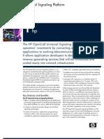 OpenCall Universal Signaling Platform Datasheet V3