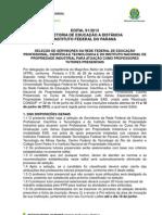 Edital Professores Tutores Presenciais 11 06 13