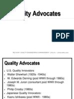 05 Quality Advocates