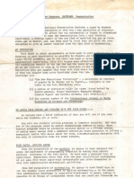 1972 Exeter Mathland Demonstration Flyer