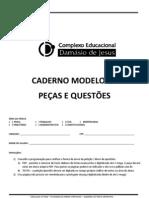 Modelo de Folha de Resposta FGV VII Exame Unificado