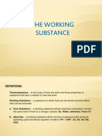 The Working Substance