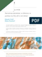 Ciencia y Politica Rio+20
