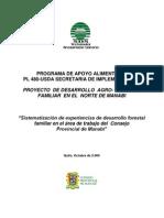 Sistematizacion Proyectos Forestales Man.