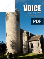 The Voice of the Villages-July and August 2013