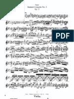 F. Seitz Student Concerto No.3 for Violin and Piano Op.12 Violin Part