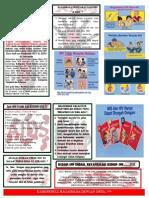 Leaflet HIV Depan Belakang