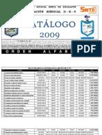 ESCALAFÓN DII4 - CATÁLOGO 2009
