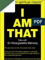 Nisargadatta Maharaj - eBook - I AM THAT - THE ULTIMATE SPIRITUAL BOOK