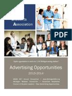 MNSA Advertising Brochure 2013-14