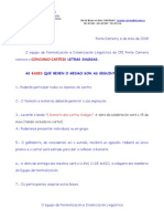 Concurso de Carteis das Letras Galegas