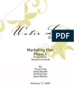Water Lily Marketing Plan Excerpt