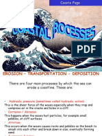 Coastal Features -Erosion Processes