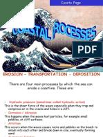 Coastal Features -Erosion Processes