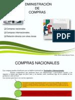 Compras Nacionales, Internaciones e Incoterms