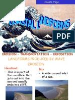 Coastal Features -  Landforms