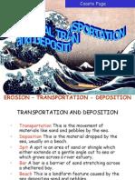 Coastal Features - Transportation & Deposition
