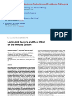 Lactic Acid Bacteria and Their Effects in the Immune System